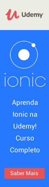 banner do curso de ionic na udemy