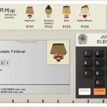 imagem representativa Simulador da Urna Eletrônica 2020 Online