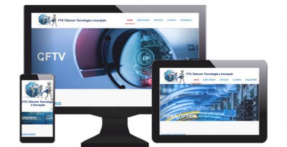 imagem representativa Site FTX Telecom