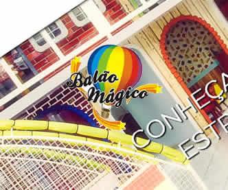 imagem representativa Criação do Site Balão Mágico