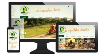 imagem representativa Criação do Site Sítio Santa Rosa