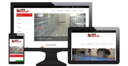 imagem representativa Site Arts Display Sorocaba