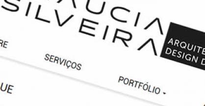 imagem representativa Criação do Site Glaucia Silveira